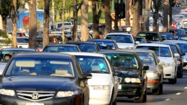 Melbourne motorists spend up to three days a year battling traffic jams.