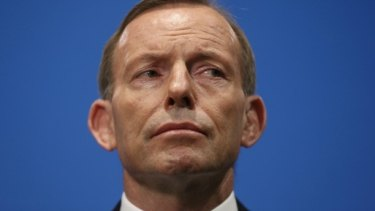 """Prime Minister Tony Abbott: """"From time to time I've fallen foul of the canons of sensitivities and I'll try my best not to."""""""