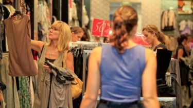 Clothes and shoes have become cheaper, despite import costs increasing.