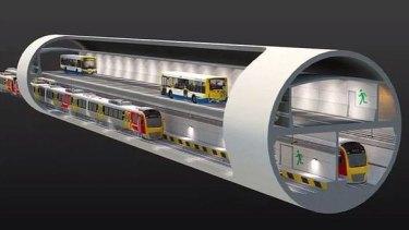 Brisbane's planned BaT Tunnel under the LNP.