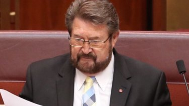 Senator Derryn Hinch told Federal Parliament that transvaginal mesh devices rivalled Thalidomide as one of Australia's worst health scandals.