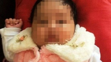Baby Asha has been released into community detention but faces deportation to Nauru.
