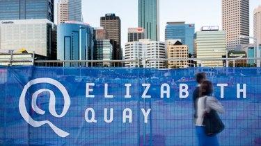 The Elizabeth Quay logo was also designed by Rare.
