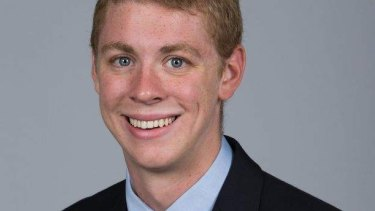 Brock Turner's yearbook photo, which is all the media had to work with for 18 months.
