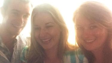 The Tromp children: Mitchell, Riana and Ella.