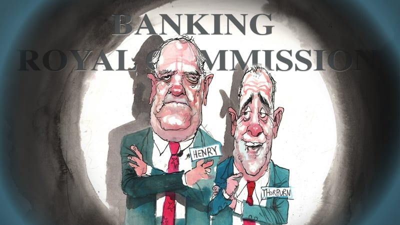 Banking royal commission: NAB chair Ken Henry goes to heart of