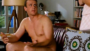 "Jason Segal: a pin up for the ""dad bod"" lovers."
