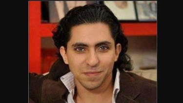 Blogger Raif Badawi.