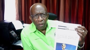 The payment to Jack Warner is being scrutinised.