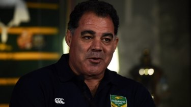 Demanding respect: Kangaroos coach Mal Meninga says any player wearing the green and gold jersey has to be a good role model.