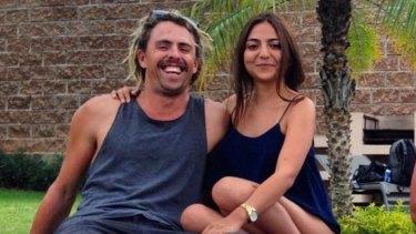 Adam Coleman and his girlfriend Andrea Gomez.