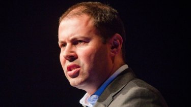 """""""We've got the states pursuing these ridiculously high and unrealistic state-based renewable energy targets,"""" said Energy Minister Josh Frydenberg."""