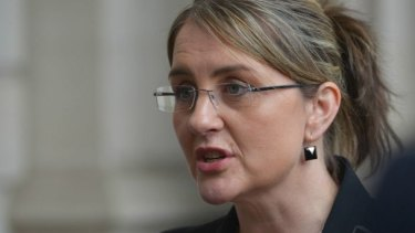 """""""There's an opportunity here to give young people their first start,"""": Employment Minister Jacinta Allan."""