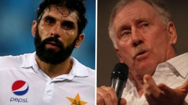Hitting out: Ian Chappell did not hold back on Macquarie Radio.