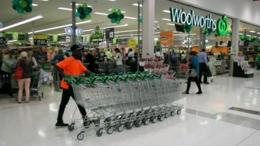 Woolworths said its labour costs were rising as part of a strategy to improve customer service.