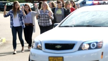 Students and staff are evacuated after a deadly shooting in Oregon.