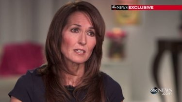 Robin William's widow Susan during an interview on Good Morning America.