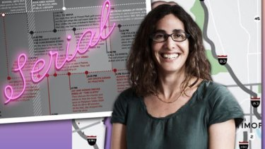 Sarah Koenig of the influential investigative podcast Serial.