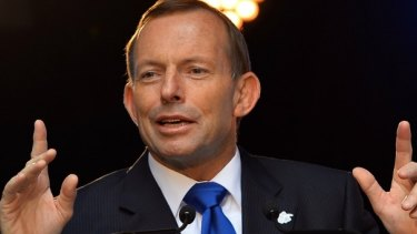 Still making headlines: former prime minister Tony Abbott.