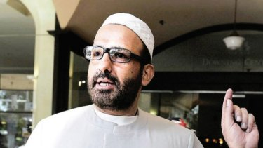 Man Haron Monis as featured in an Islamic State magazine after his death.