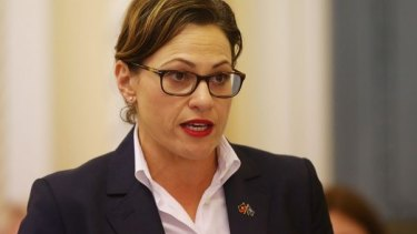 """Deputy Premier Jackie Trad is """"determined to see shovels in the ground this year""""."""