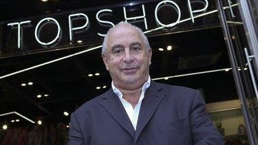 Rescue bid? Topshop's UK founder, Sir Philip Green.