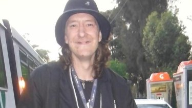 Brendan Bernard, whose severed forearm was found in the Maribyrnong River on February 5, 2015.