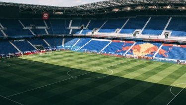 Future home: Red Bull Arena in New York, where the proposed league team would play.