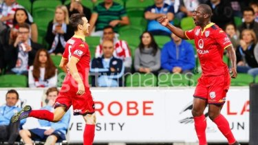 Top: Adelaide United have deservedly won the Premier's Plate, but can they win the grand final too?
