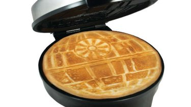Death Star waffle maker.