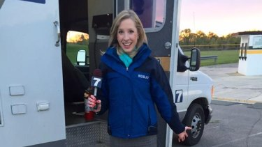 Alison Parker, who died in the shooting.