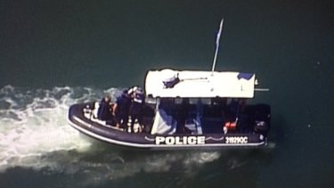 Police search canals for a missing snorkeller in Noosa.