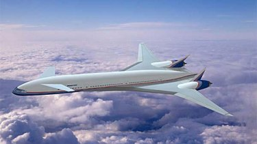 Boeing eventually canned its futuristic Sonic Cruiser project, which Qantas executives came to see as a 'box full of problems'.
