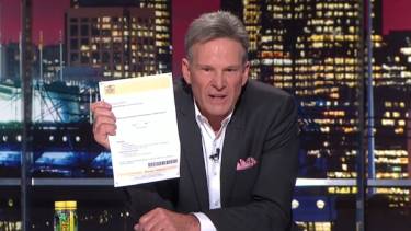 Sam Newman had a clear message for the AFL last night.