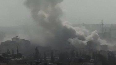 Air strikes resumed in rebel-held areas in Syria on November 15