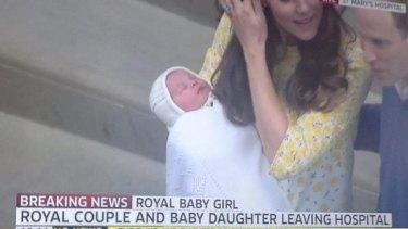 The Princess of Cambridge.