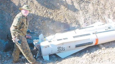 Shane Della-Vedova stole the 10 rocket launchers from the ADF between 2001 and 2003.