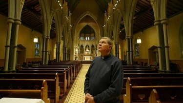 Geelong's St Mary of the Angels Father Kevin Dillon.