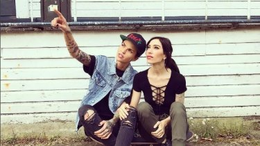 Australia's new hot couple: Ruby Rose and The Veronicas' Jess Origliasso.