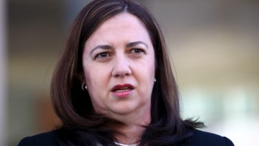 """Premier Annastacia Palaszczuk: """"I feel absolutely sick, disgusted...for this to happen is unbelievable."""""""