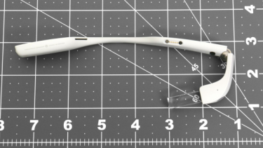 The new Google Glass, believed to be the work-focused Enterprise Edition.