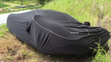 Police are investigating the cause of the crash of the supercar.