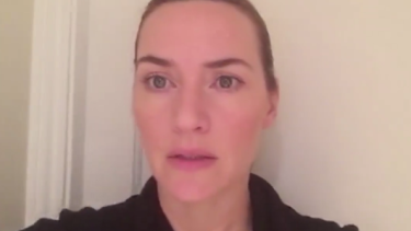 Kate Winslet's video acceptance for best actress at the AACTA awards.