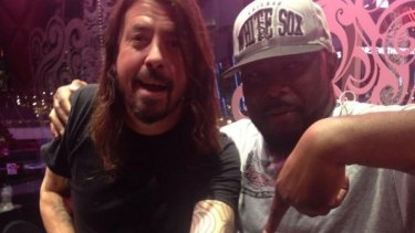 Dave Grohl's latest ink comes after the death of his friend and mentor.