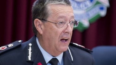 "Police Commissioner Ian Stewart: ""I'm not there for the popularity contest."""