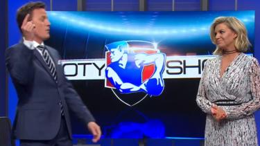 James Brayshaw hosting  The Footy Show.