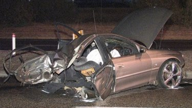 Two people have died shortly after being involved in a high speed chase with police.