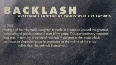 Backlash by Bidda Jones and Julian Davies.