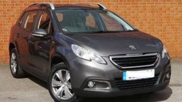 A Peugeot wagon similar to the car Mark and Jacoba Tromp were last seen driving.