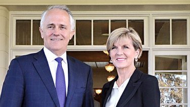 """In claiming in the speech that """"our relationship with China is well understood as being our most important economic partnership"""" Turnbull also directly contradicted foreign minister Julie Bishop's January 2015 comments on this subject."""